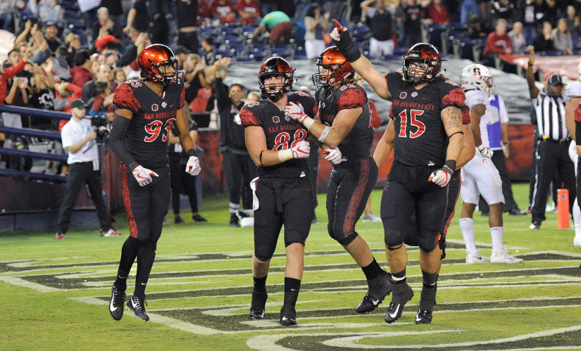 San Diego State jumps to No. 22 in AP poll