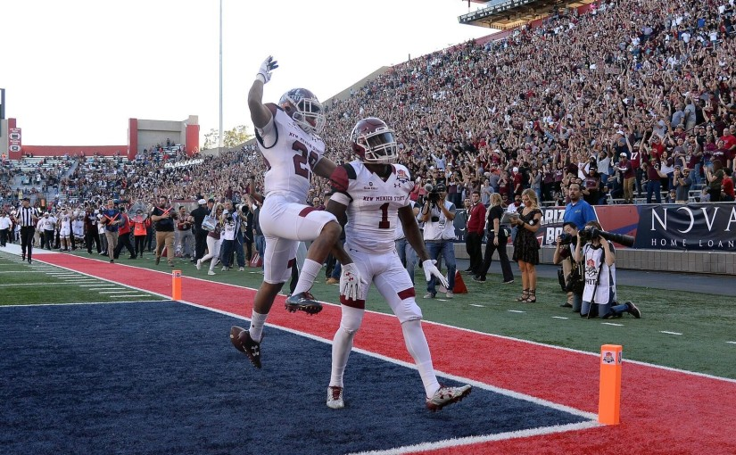 New Mexico State wins a bowl game. Really!